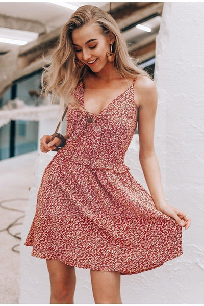 robe hippie bordeaux