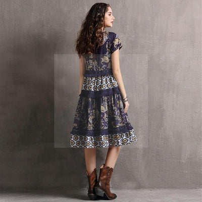 robe hippie chic originale