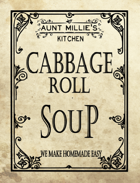 Cabbage Roll Soup Mix, 12 cups