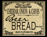 Cheddar & Chives Beer Bread