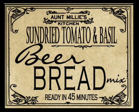 Sundried Tomato & Basil Beer Bread