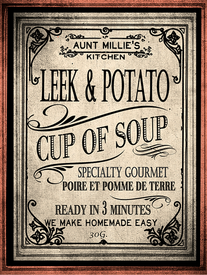 Leek & Potato Cup of Soup Mix