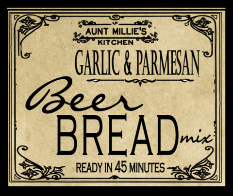 Garlic Parmesan Beer Bread