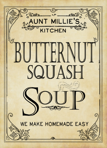 Butternut Squash Soup Mix, 12 cups