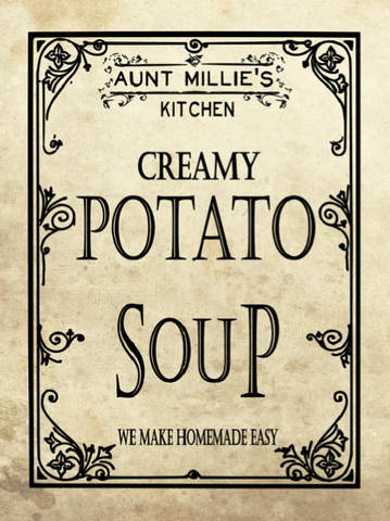 Creamy Potato Soup Mix, 12 cups