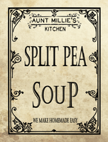 Split Pea Soup Mix, 12 cups