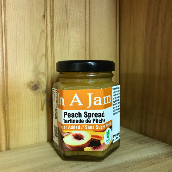 No Sugar Added Peach Spread 110 mL