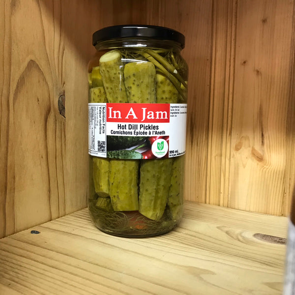 Hot Dill Pickles 990 mL