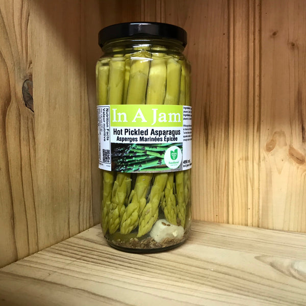 Hot Pickled Asparagus 490 mL