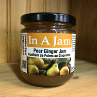 Pear Ginger Jam