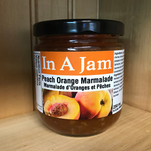 Peach Orange Marmalade