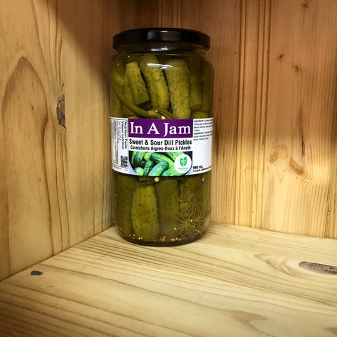 Sweet & Sour Dill Pickles 990 mL