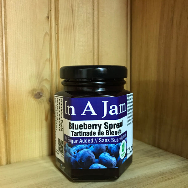 No Sugar Added Blueberry Spread 110 mL