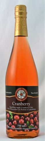 Sparkling Cranberry Apple Cider 750 mL