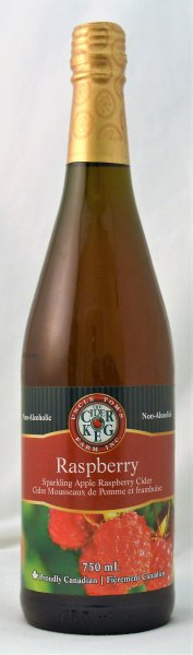 Sparkling Raspberry Apple Cider 750 mL