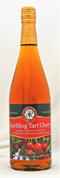 Sparkling Tart Cherry Apple Cider 750 mL