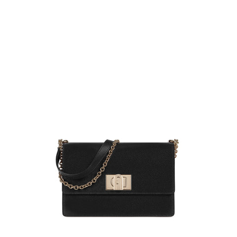 BORSA FURLA 1927 S CROSSBODY 24 NERO | Fronte | Salotto Shop