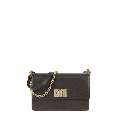BORSA FURLA 1927 S CROSSBODY 24 ASFALTO | Fronte | Salotto Shop
