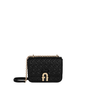 BORSA FURLA COSY MINI SHOULDER BAG NERO | Fronte | Salotto Shop