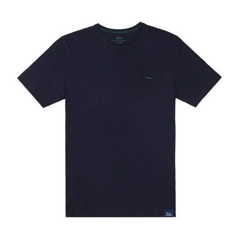 T SHIRT BASIC BLU NAVY H&B IND001020849 | Fronte | SALOTTO SHOP