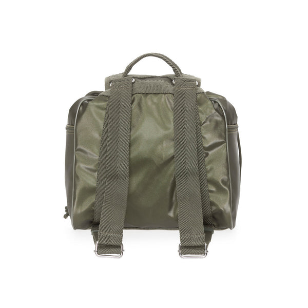 TRACOLLA ZAINO UTILITY MILITARY OLIVE P10UQT01 | Retro | SALOTTO SHOP