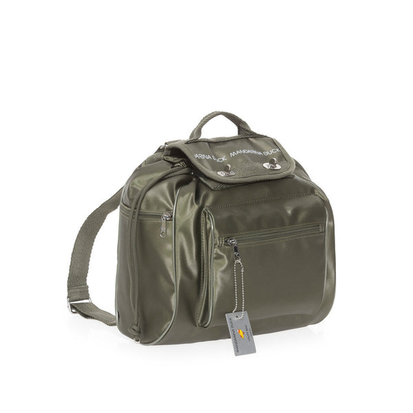 TRACOLLA ZAINO UTILITY MILITARY OLIVE P10UQT01 | laterale | SALOTTO SHOP