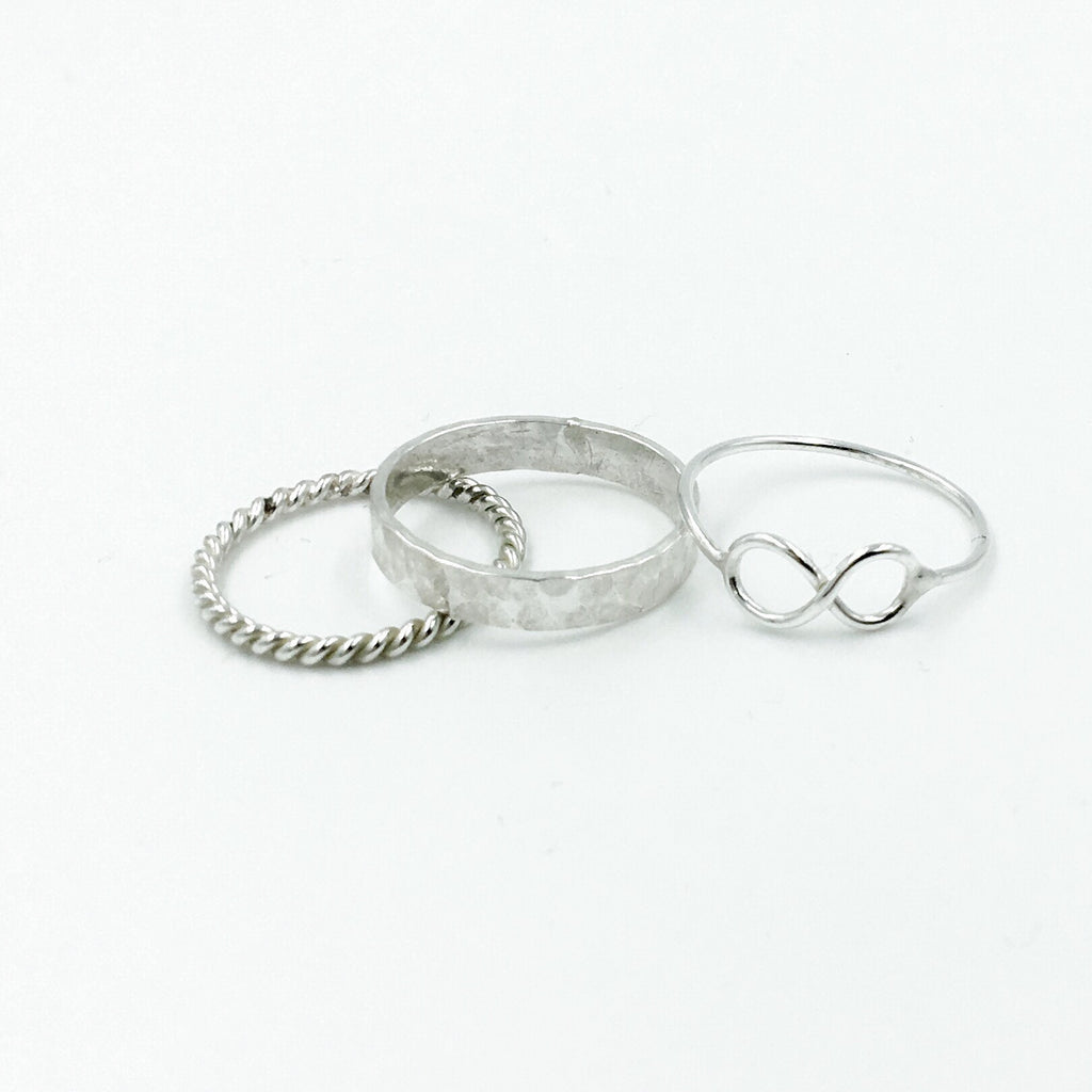 STACK RING INFINITY SET