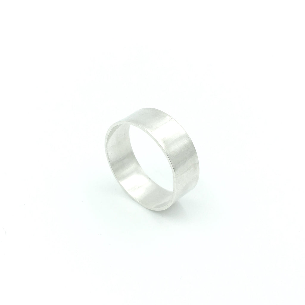 MENS POLISHED RING