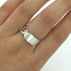 CAST DOUBLE ROUND RING