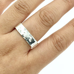 JAGGED CUFF RING