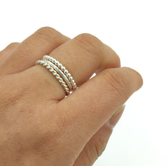 STACK RING SIMPLE SET