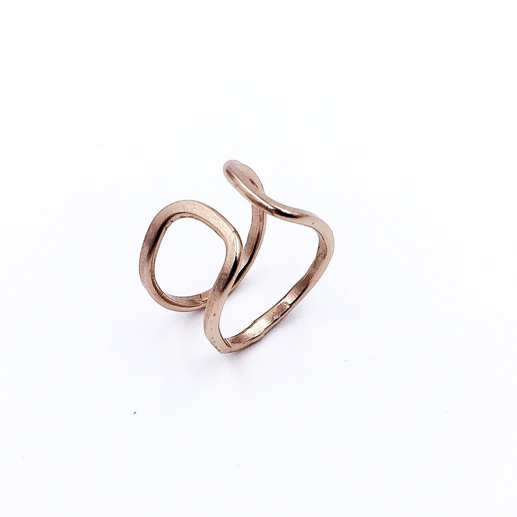 ROSE GOLD LINK RING