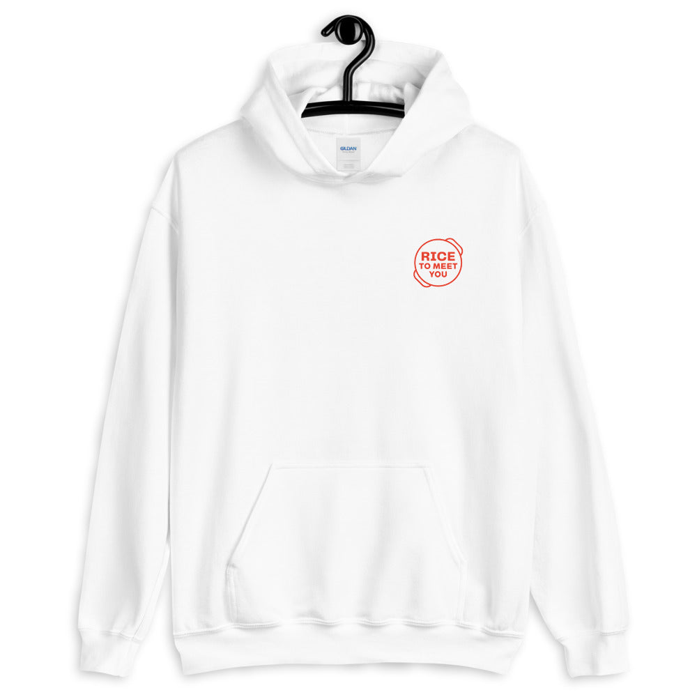 Rice To Meet You Hoodie