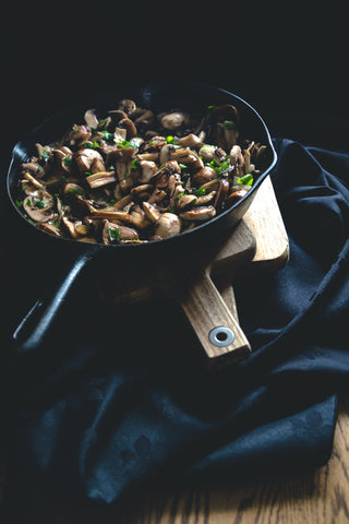 Vegan Mushroom Lunch Recipe Vitamin D High