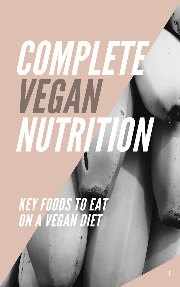 Complete Vegan Nutrition E-Book