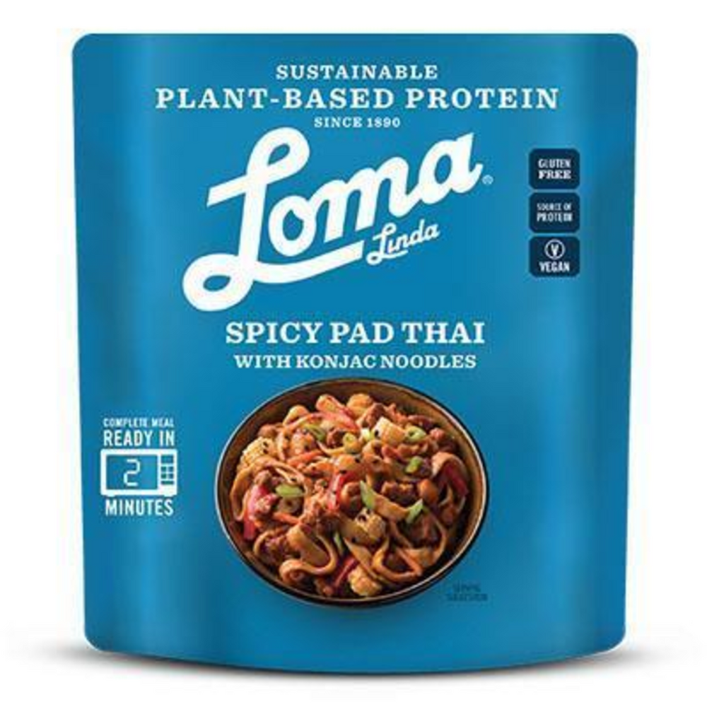 Spicy Pad Thai with Konjac Noodles