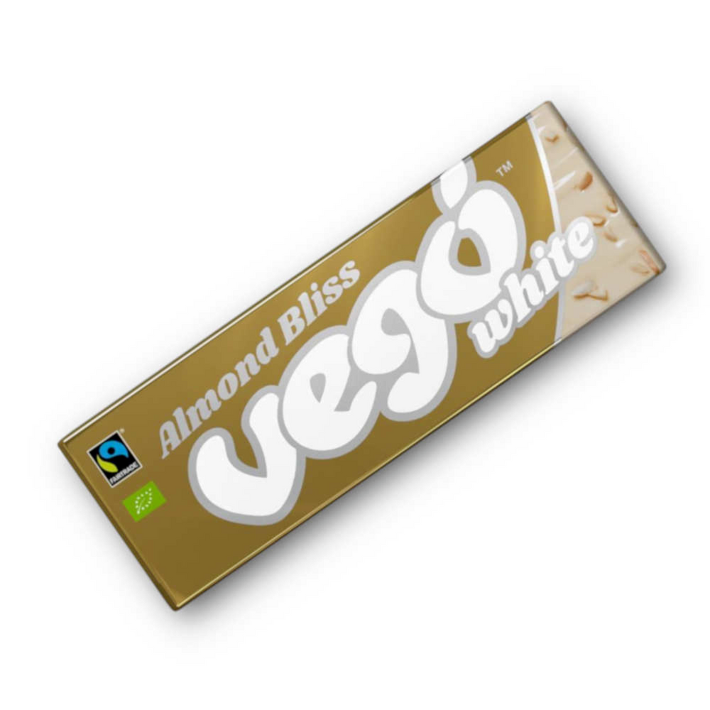 Load image into Gallery viewer, Almond Bliss Vegan White Chocolate Bar - Pips