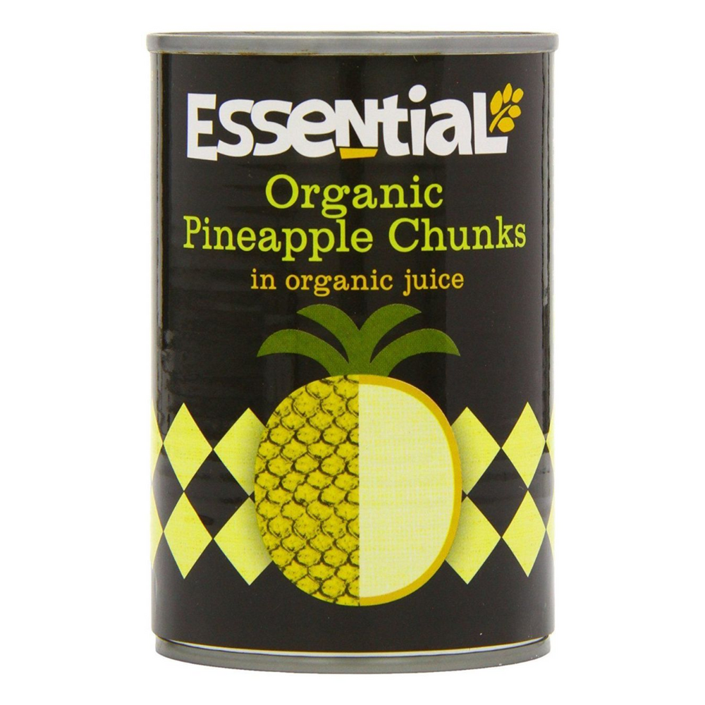 Organic Pineapple Chunks in Juice
