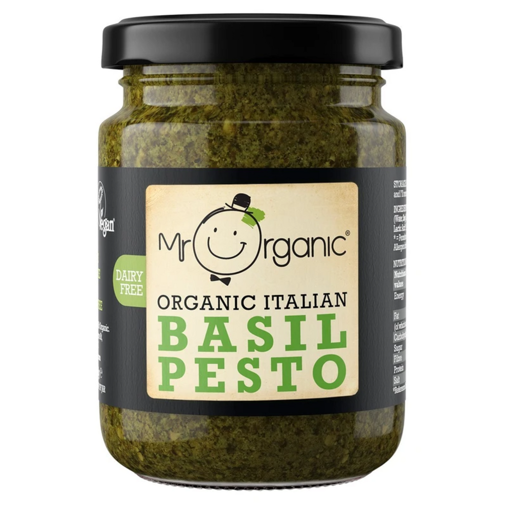 Authentic Italian Basil Pesto