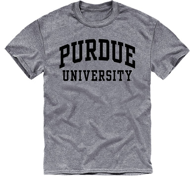 Purdue University Classic T-Shirt (Charcoal Grey)