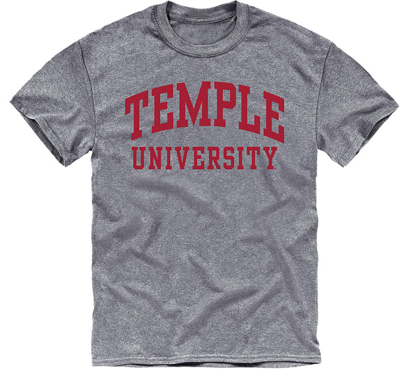 Temple University Classic T-Shirt (Charcoal Grey)