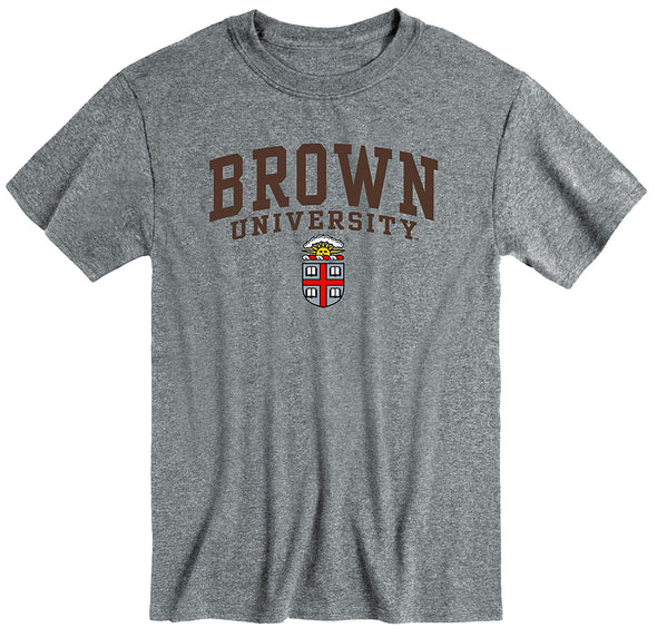 Brown Heritage T-Shirt (Charcoal Grey)