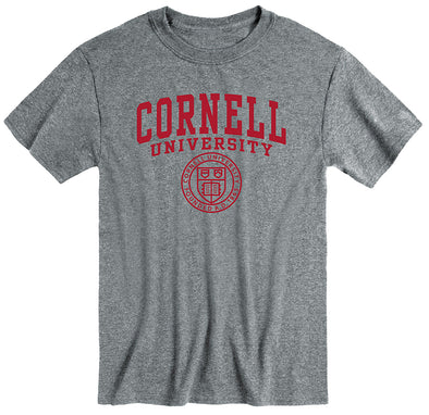 Cornell Heritage T-Shirt (Charcoal Grey)