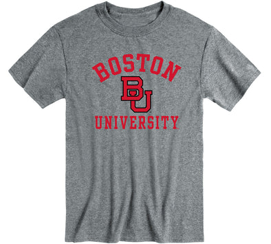 Boston University Heritage T-Shirt (Charcoal Grey)