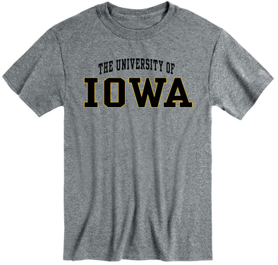 University of Iowa Classic T-Shirt (Charcoal Grey)