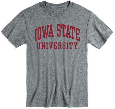 Iowa State University Classic T-Shirt (Charcoal Grey)