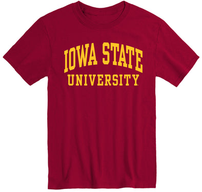 Iowa State University Classic T-Shirt (Cardinal)