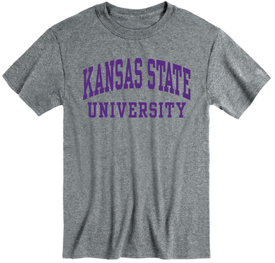 Kansas State University Classic T-Shirt (Charcoal Grey)