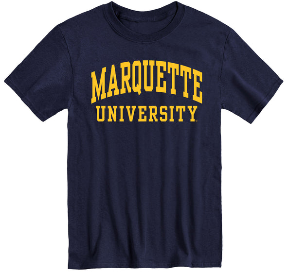 Marquette University Classic T-Shirt (Navy)