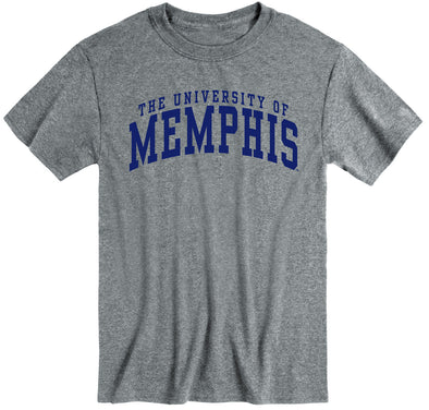 The University of Memphis Classic T-Shirt (Charcoal Grey)
